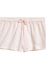 2-pack pyjama shorts - Grey/Pink striped - Ladies | H&M 3