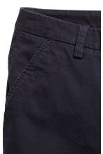 Cotton shorts - Dark blue - Ladies | H&M CN 3