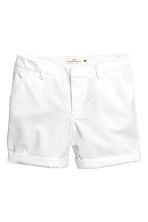 Cotton shorts - White - Ladies | H&M GB