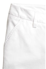 Cotton shorts - White - Ladies | H&M CA 4