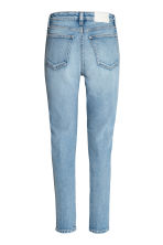 Straight High Waist Jeans - Light denim blue - Ladies | H&M 3