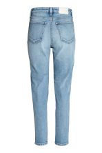 Straight High Waist Jeans - Light denim blue - Ladies | H&M 4