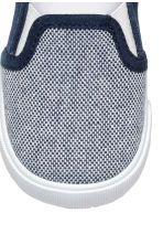 Slip-on trainers - Dark blue/White -  | H&M 3