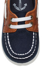 Deck shoes - Dark blue -  | H&M 3