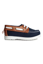 Deck shoes - Dark blue - Kids | H&M CN 1