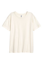 Wide T-shirt - Natural white - Ladies | H&M 2