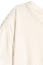 Wide T-shirt - Natural white - Ladies | H&M 3