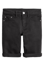 Twill shorts - Black - Kids | H&M CA 2