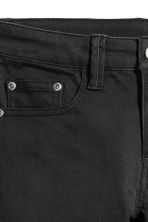 Twill shorts - Black - Kids | H&M CA 4