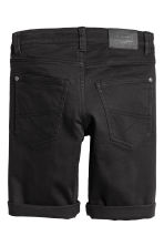 Twill shorts - Black - Kids | H&M CN 3
