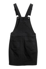 Dungaree dress - Black -  | H&M CN 3
