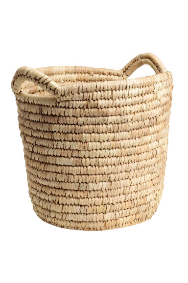 Large storage basket - Natural - Home All | H&M CN 1