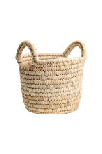 Small storage basket - Natural - Home All | H&M CN 1