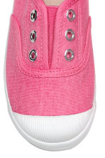 Cotton canvas trainers - Pink - Kids | H&M CN 4
