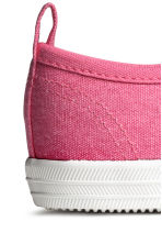 Cotton canvas trainers - Pink - Kids | H&M CN 5