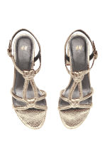 Sandals - Gold - Ladies | H&M CA 2