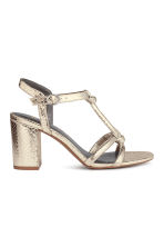 Sandals - Gold - Ladies | H&M CA 1