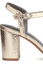 Sandals - Gold - Ladies | H&M CA 4