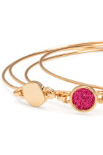 4-pack bangles - Gold/Pink - Ladies | H&M 2