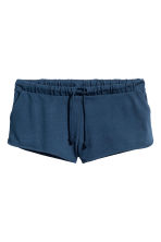 Short jersey shorts - Dark blue - Ladies | H&M CN 2