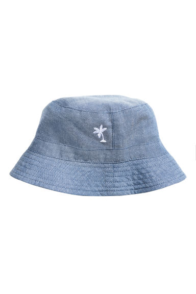 Chambray fisherman's hat - Blue - Kids | H&M CN 1