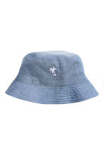 Chambray fisherman's hat - Blue - Kids | H&M 1