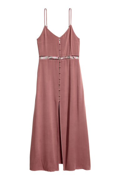 Buttoned dress - Vintage pink - Ladies | H&M CN 1