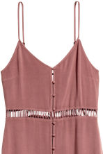 Buttoned dress - Vintage pink - Ladies | H&M CN 2