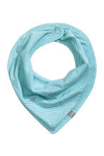 3-pack triangular scarves - Mint green -  | H&M 2