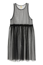 Mesh dress - Black - Ladies | H&M 2