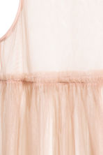 Mesh dress - Powder beige - Ladies | H&M 3