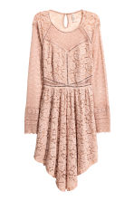 Lace dress - Old rose - Ladies | H&M CN 2