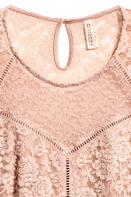 Lace dress - Old rose - Ladies | H&M CN 3