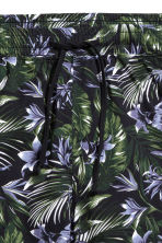 Pyjama shorts - Black/Patterned - Men | H&M CN 3