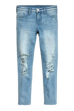 Skinny fit Worn Jeans - Ljus denimblå - Kids | H&M FI 2