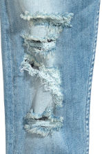 Skinny fit Worn Jeans  - Light denim blue - Kids | H&M 4