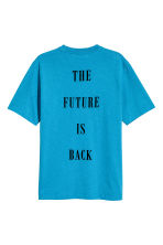 T-shirt - Bright blue - Men | H&M CN 3