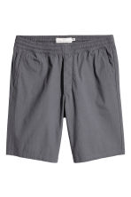 Knee-length cotton shorts - Dark grey - Men | H&M CN 1