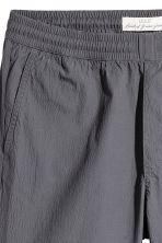 Knee-length cotton shorts - Dark grey - Men | H&M CN 2
