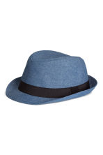 Cotton hat - Blue/Chambray - Kids | H&M CA 1