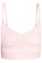 MAMA 2-pack lace nursing bras - Light pink - Ladies | H&M 4
