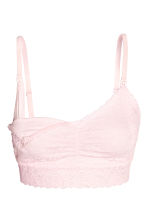 MAMA 2-pack lace nursing bras - Light pink - Ladies | H&M 3