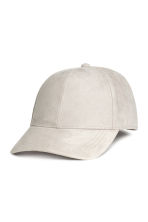 Imitation suede cap - Light mole - Ladies | H&M 1