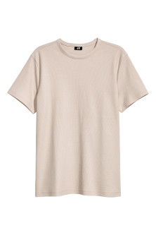 Cotton piqué T-shirt