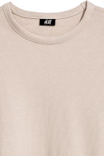 Cotton piqué T-shirt - Light beige - Men | H&M 2