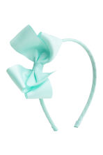 2-pack Alice bands with a bow - Mint - Kids | H&M 2