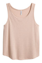 Wide vest top - Beige - Ladies | H&M 2