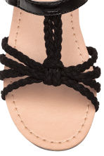 Sandals - Black - Kids | H&M CN 4