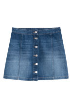 A-line skirt - Denim blue - Ladies | H&M 2