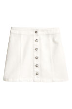 A-line skirt - White - Ladies | H&M 2